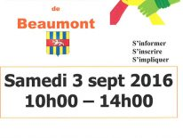 Affiche du forum des associations de Beaumont