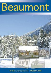 Couverture du Bulletin municipal de Beaumont n°84