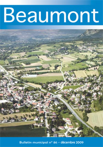 Couverture du Bulletin municipal de Beaumont n°86