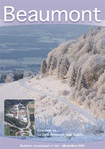 Couverture du Bulletin municipal de Beaumont n°88