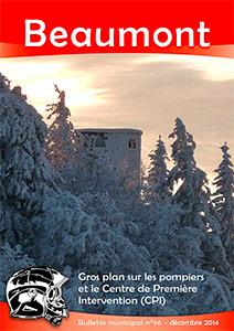 Couverture du bulletin municipal n°96 - décembre 2014
