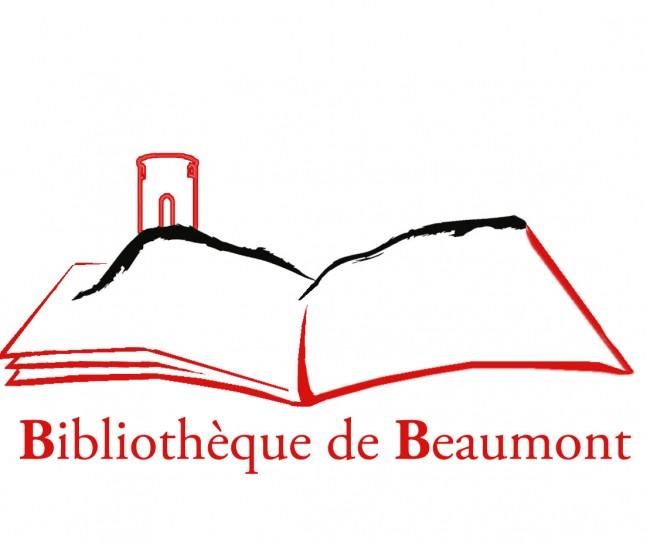 logo bibliothèque beaumont
